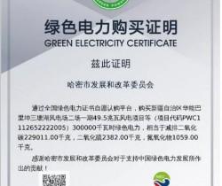 新疆人民政府购买300个绿证 大力推行可再生能源
