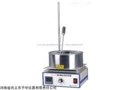 集热式恒温加热磁力搅拌器采用集热式加热法