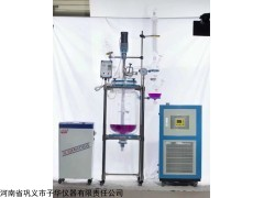 YSF系列变频调速双层玻璃反应釜(EX防爆)测温密封性高
