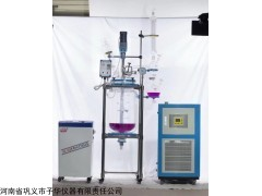 YSF标准型变频调速双层玻璃反应釜 可定做