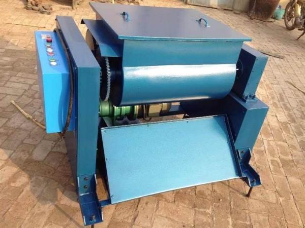 4千瓦   5,电源电压:380伏      hjs-ii型双卧轴混凝土搅拌机 结构