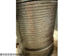 15*15mm高温高压石墨盘根规格介绍
