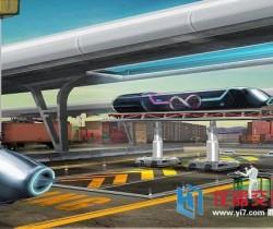 世界首条商业性超级高铁将坐落阿联酋