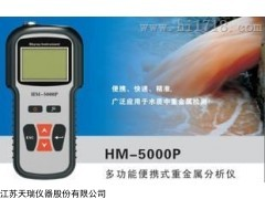 HM-5000P水质重金属检测仪