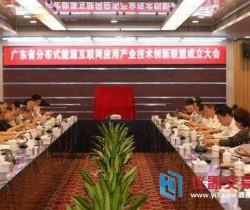 广东成立业内首家分布式能源应用产业联盟