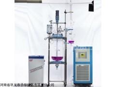 双层玻璃反应釜YSF-10L变频调速专业予华仪器