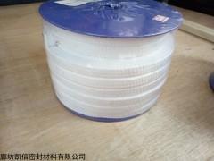 8*8无油四氟丝纺织盘根价格、四氟盘根厂家