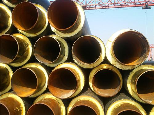 聚氨酯直埋保温管    聚氨酯直埋保温管结构由里到外分为三层:内层为图片