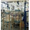 雙層玻璃反應釜 雙層玻璃反應釜10-200L