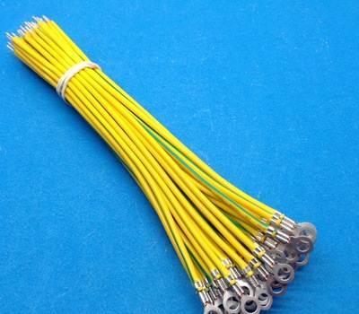 (5)不得将接地线挂在线路的拉线或金属管上.