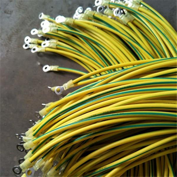 6平方连接线    一,光伏板黄绿接地线产品用途:本产品适用于光伏板
