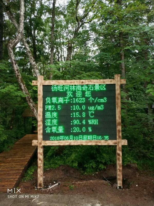 osen-fy 湖北景区,公园,森林负氧离子监测系统