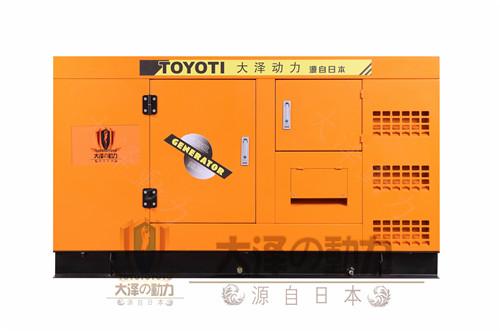 影响汽油发电机组的带载能力;同样排气管不符合要求,机房内空气含氧量