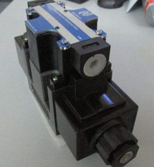 两位五通双电控电磁阀动作原理:给正动作线圈通电,则正动作气路接通图片