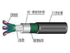 铠装PTY23铁路信号电缆6*2.5用途