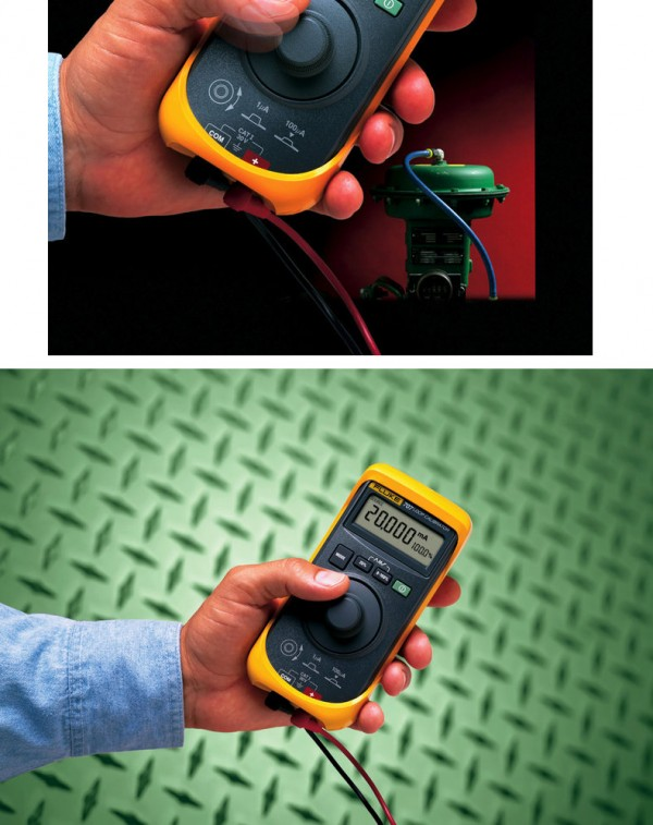 Fluke 707回路校验仪(环路校准器)是对电流回路进行校准、维修和维护的高性能解决方案。它新型的快速测量(Quick Click)旋钮,测量快速且易用。回路校验仪(环路校准器)主要特点有: 使用快速测量(Quick Click)感应旋钮,单手即可操作;mA 电源、仿真和测量功能;0.015%的准确度和0.