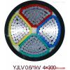 铝芯电缆YJLV22-1KV-3*185+1*95