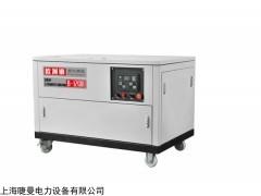 油田公司用12kw汽油发电机