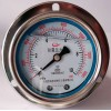 YN-60/75/100/150ZT 轴向带边耐震压力表
