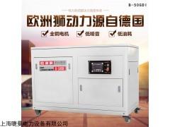 B-50GDI 50kw静音汽油发电机投标项目用