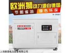 四缸水冷式30KW汽油发电机