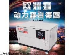 三相15KW水冷汽油发电机