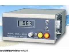 不分光红外的GXH-3010E便携红外CO2分析仪