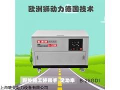 自啟動25千瓦汽油發電機價格