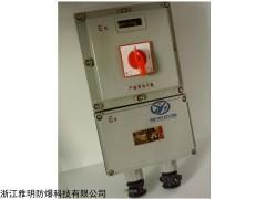 BDZ52 防爆断路器 3P防爆漏电开关