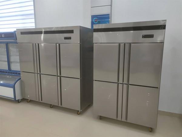 2019河南郑州商用厨房冷藏柜冷冻柜四六门冰箱