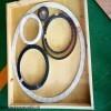 DN100-16 扬州碳钢内外环金属缠绕垫片我们有
