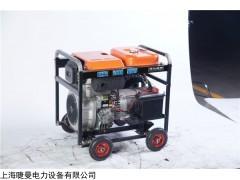 190A柴油發電電焊機焊接水平