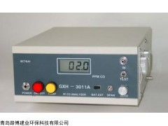 路博直供的GXH-3011A便携红外CO分析仪
