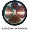 ZR-YJV 3*35+1*16阻燃铜芯电缆