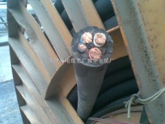yc铜芯软电缆3*95+2*35外径是多少