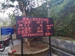 BYQL-FY 广西桂林景区森林负氧离子浓度在线监测系统