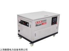 B-10GDI 酒吧备用10千瓦汽油发电机噪音