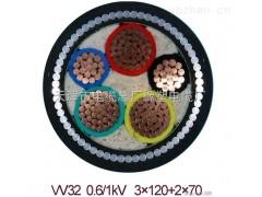 YJV32电力电缆 YJV32钢丝铠装电缆