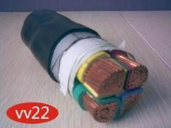 铠装铜芯电缆VV22 3*2.5多少钱