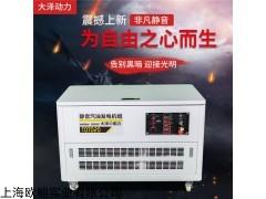 低排量汽油发电机参数