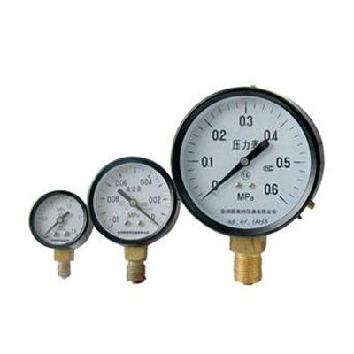 Y-100 普通压力表