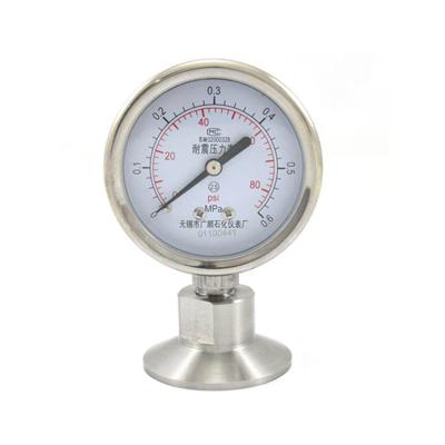 Y-100BF/MC 卫生型隔膜压力表
