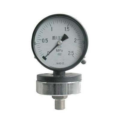 YPF-100A 膜片压力表