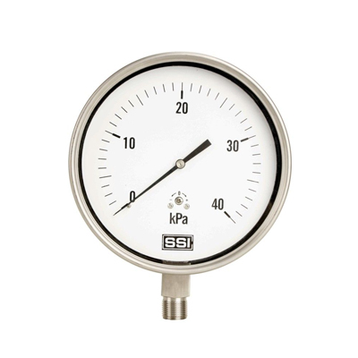 YE-75B 不锈钢膜盒压力表