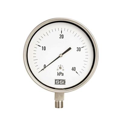 YE-100B  不锈钢膜盒压力表