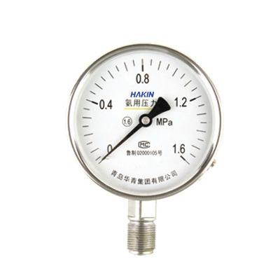 YA-100B 不锈钢氨用压力表