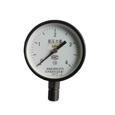 YA-150 氨用压力表