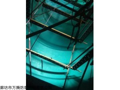 VEGF-1 老脱硫塔玻璃鳞片脱落维修方法