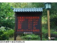 BYQL-FY 廣西桂林森林公園負氧離子監測系統一站多個屏幕