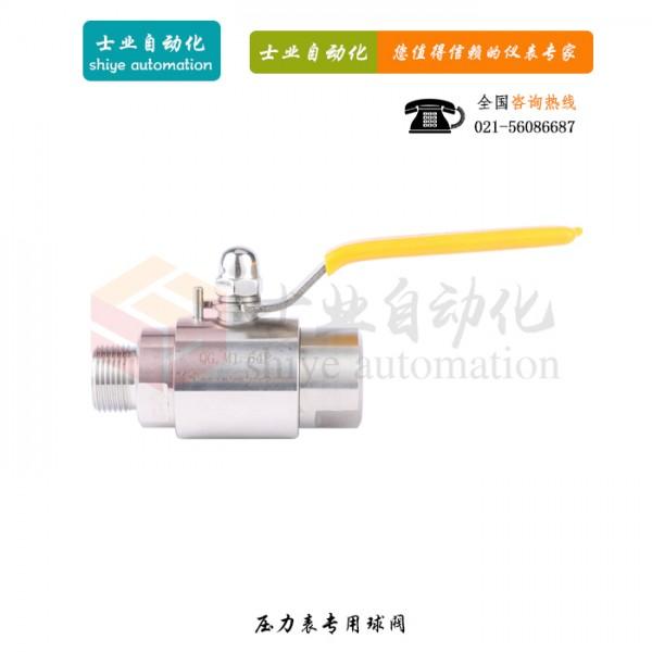 压力表球阀 QGM1-64P